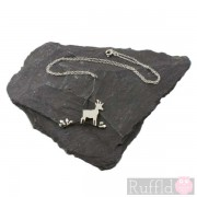 Necklace - Deer on the Edge of the Wood