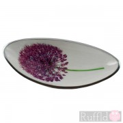 Azeti Aluminium Long Bowl - Allium Design