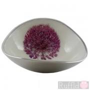 Azeti Aluminium Oval Bowl - Allium Design
