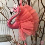 Flamingo - Dusky Pink - Stand Tall