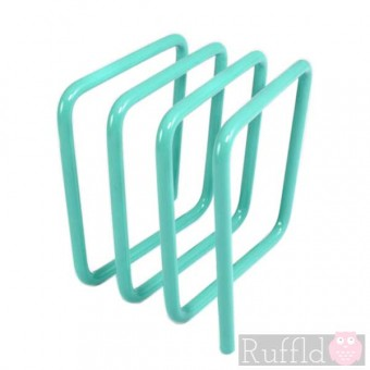 Letter Rack in Turquoise