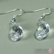 Earrings - Oval Crystal