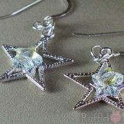 Earrings - Silver Stars