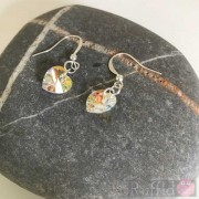 Earrings - Crystal Hearts