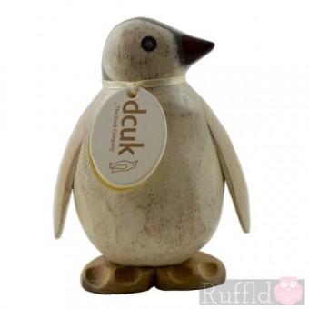 Baby Emperor Penguin Glancing Left