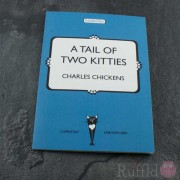 "Card - Pusskin Tails ""A Tail of Two Kitties"""