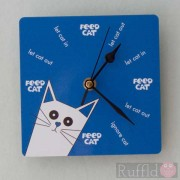 Clock - Pusskin Design in Blue