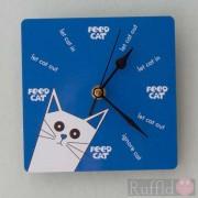 Clock - Pusskin Design in Blue