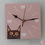 Clock - Tomsk Design in Orange