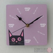 Clock - Tomsk Design in Pink