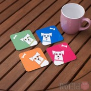 Dog Coasters - Banko Design