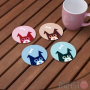 Dog Coasters - Pupski Design
