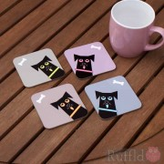 Dog Coasters - Sabachka Design