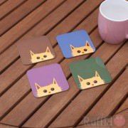 Cat Coasters - Sid Design