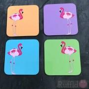Coasters - Flamingo Design