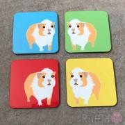 Coasters - Guinea Pig Design