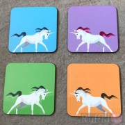 Coasters - Unicorn Design