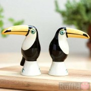 Salt and Pepper Shakers - Toucan Design