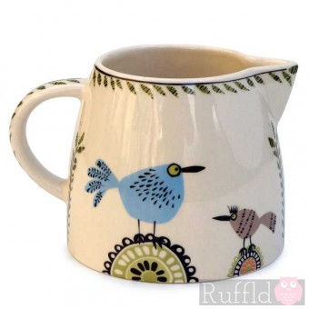 Milk Jug - Birdlife Design