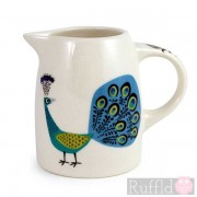Tiny Jug - Peacock Design