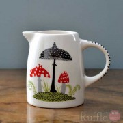 Tiny Jug - Toadstool Design