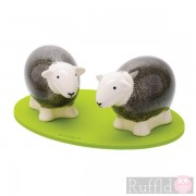 Sheep Salt and Pepper Shakers in Grey
