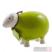 Sheep Money Box in Green
