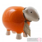 Sheep Money Box in Orange