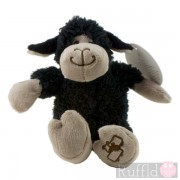 Snuggle Sheep Soft Toy in Black