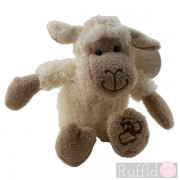 Snuggle Sheep Soft Toy in White