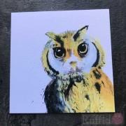 Card - Inky Owl