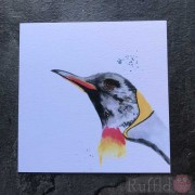 Card - Inky Penguin