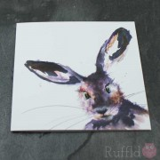 Card - Inky Hare