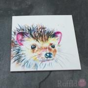 Card - Inky Hedgehog