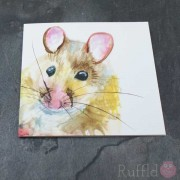 Card - Inky Mouse