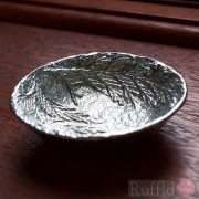 Pewter Bowl - Lavender Design