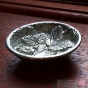 Pewter Bowl - Redcurrant Design