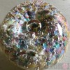 Paperweight - Salsa Collection - Round Glass in Pastel Colours