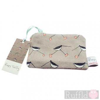 Oyster Catcher Small Useful Purse by Poppy Treffry
