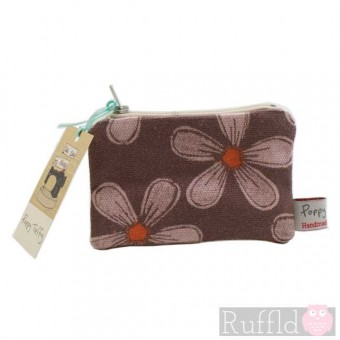 Herb Robert Small Useful Purse by Poppy Treffry