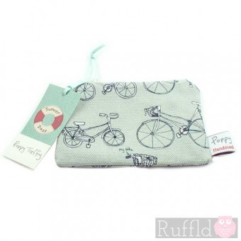 Pedal Power Small Useful Purse by Poppy Treffry