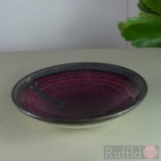 Porcelain Tiny Bowl in Burgundy by Richard Baxter