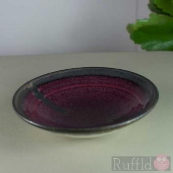 Porcelain Tiny Bowl in Burgundy by Richard Baxter