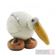 Ceramic Individually designed Seagull - Beak Down