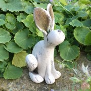 Ceramic Individually designed Small Hare - Ears Up