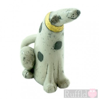 Ceramic Individually designed Spotty Dog
