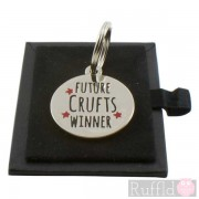 Dog ID Tag with Future Crufts Winner Design by Sweet William