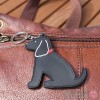 Dog Key Ring - Cocker Spaniel (Black) Design