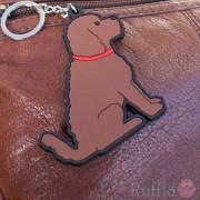 Dog Key Ring - Cockapoo Design