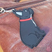 Dog Key Ring - French Bulldog Design